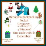 Merseylea Backpack in a Pocket #Giveaway Ends Dec. 25 ENDED