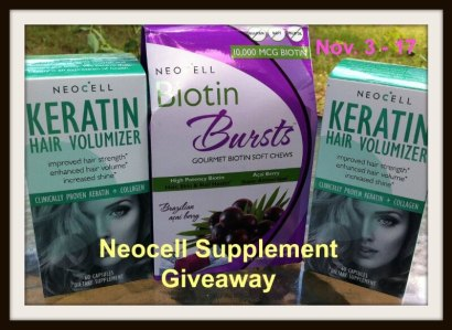 neocell supplement giveaway image