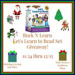 Rock and Learn #Giveaway #GTG2015 Ends Dec. 15 ENDED