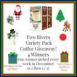 Two Rivers Variety Pack Coffee #Giveaway Ends Dec. 25 ENDED