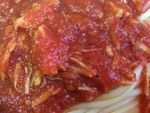 chicken marinara sauce