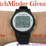 WatchMinder #Giveaway Ends March 10 ENDED
