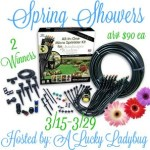 Spring Showers Micro-Sprinkler Kit #Giveaway Ends March 29 *ENDED*