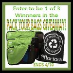 Pack Your Bags #Giveaway Ends April 10