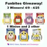 Funbites #Giveaway Ends April 25 *ENDED*