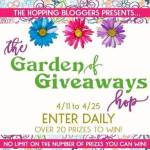 Garden of Giveaways #Giveaway Hop Ends April 25 *ENDED*