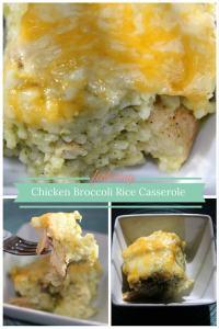 Chicken Broccoli Rice Casserole