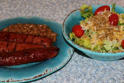 Sweet & Messy Barbecue Sausage is the taste of summer!