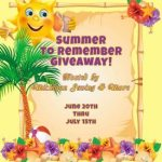 Summer To Remember #Giveaway @las930 Ends July 15