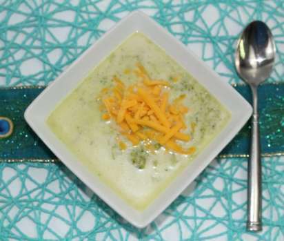 Creamy Broccoli Soup would be perfect for my lunch next week.