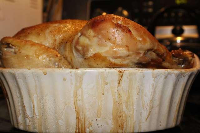Garlic Stuffed Baked Chicken #Recipe