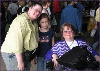 Lori and Trish with Lori's Niece