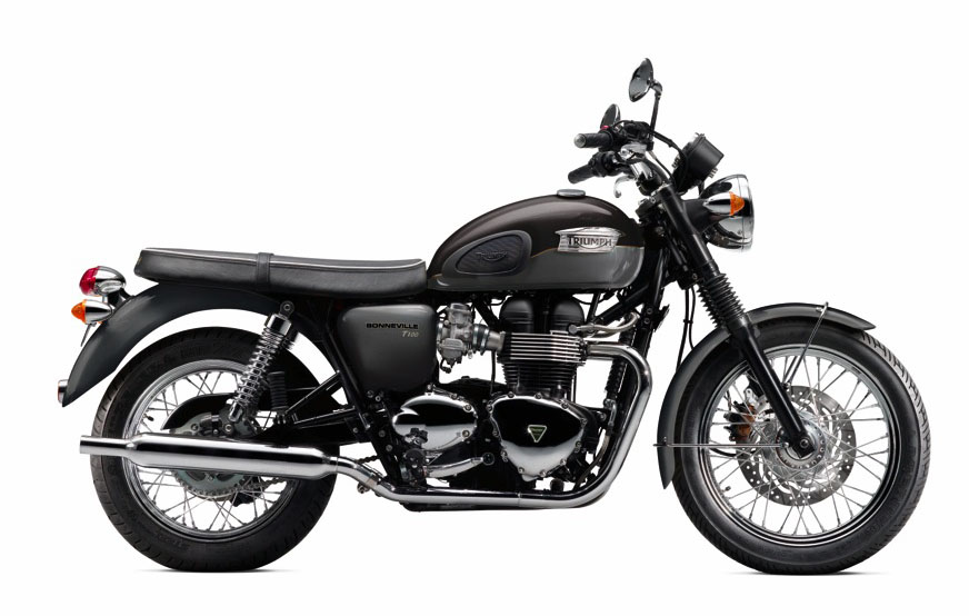 BonnevilleT100 Graphite & Phantom Black