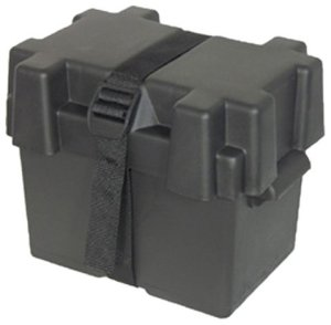 Marine battery boxes