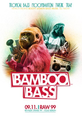 Bamboo Bass Berlin Flyer November