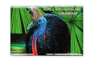 Cassowary Fridge Magnet