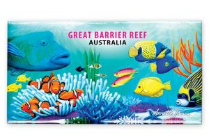 Wrasse & Clown Fish fridge magnet - Great Barrier Reef, Australia