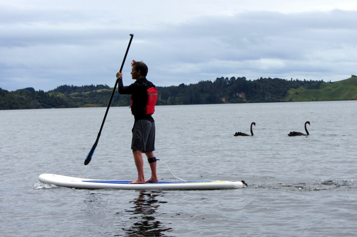 Rotorua, NZ: Paddle Boarding in the Land of Geothermals!