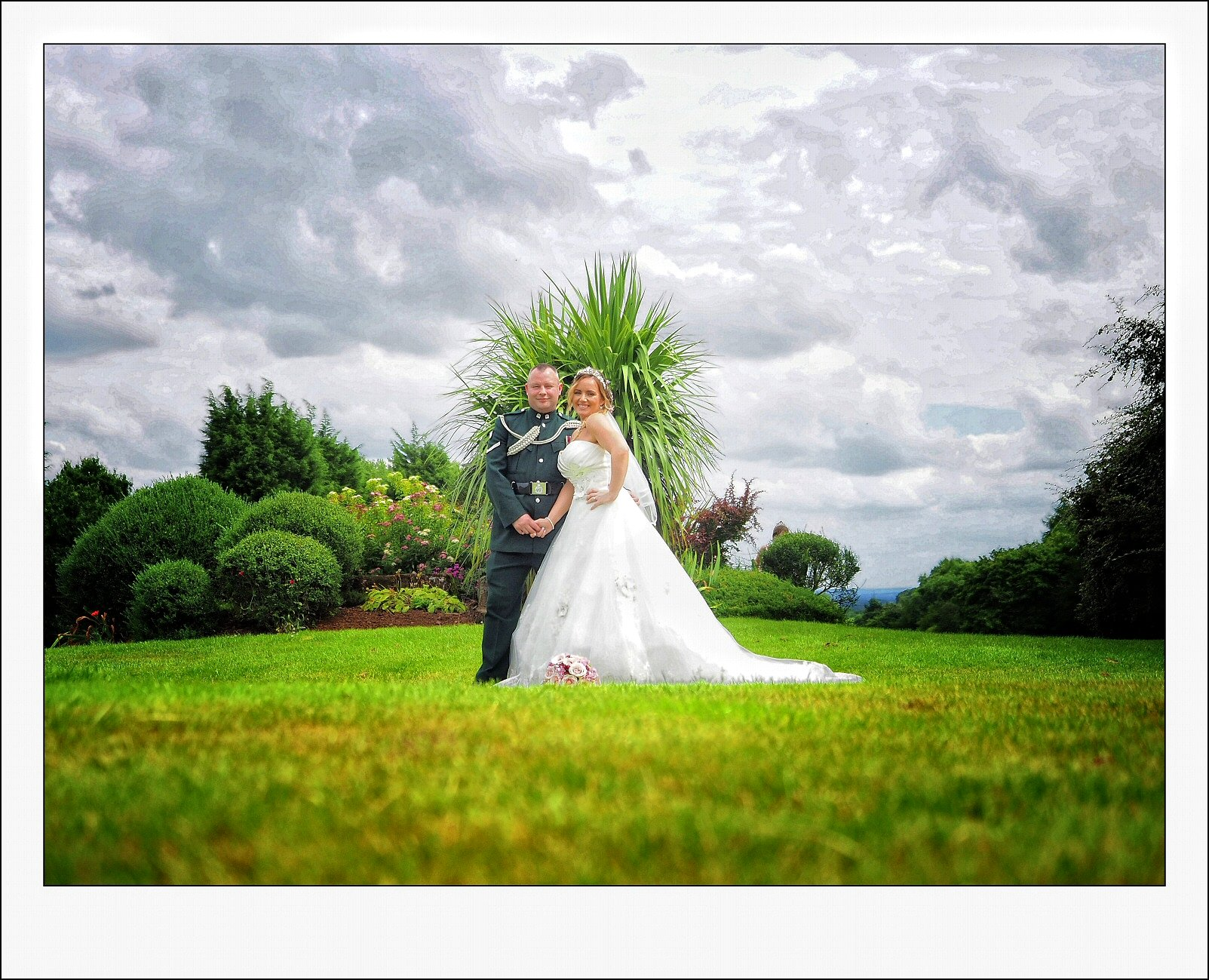 wedding photographer at Telford golf and spa club