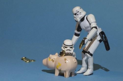 Start saving money. Even if it's just a tiny bit.