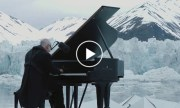 Internationally acclaimed pianist plays piano in the middle of the Arctic Ocean!