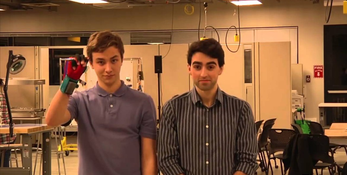 Students create gloves that turn sign language into speech