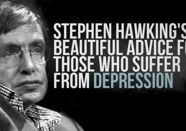 Stephen Hawking Advice For Depression