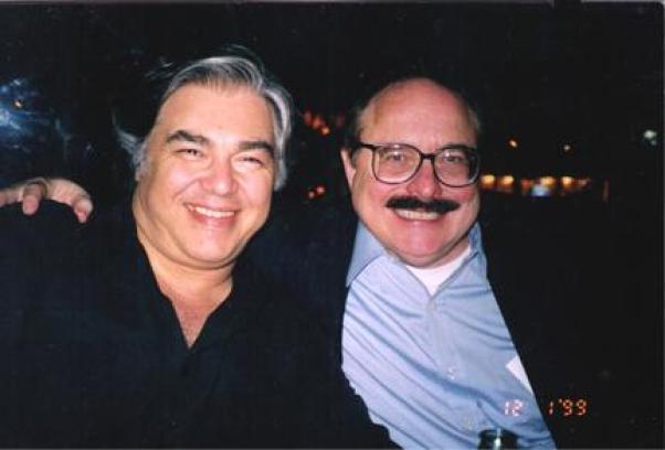 Aaron Russo with Nick Rockefeller