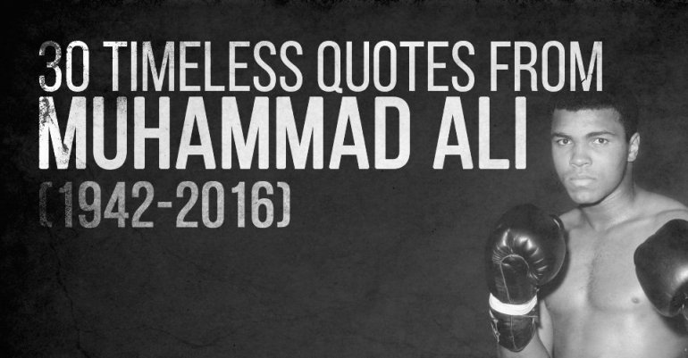 Quotes from Muhammad Ali