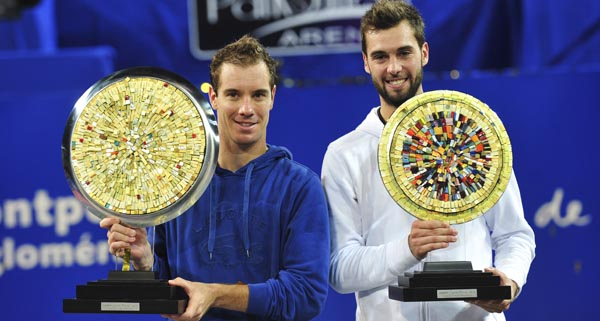 Richard Gasquet  & Benoit Paire - 2013 Open Sud de France