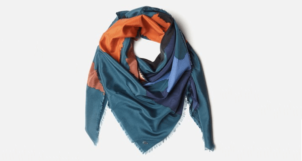 Lacoste Spring 2013 - women's scarf