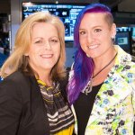 mishit: mattek-sands and allaster ring nyse bell