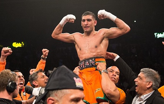 Amir Khan vs Julio Diaz Replay Video