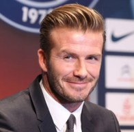 David Beckham is the Richest football player in the world