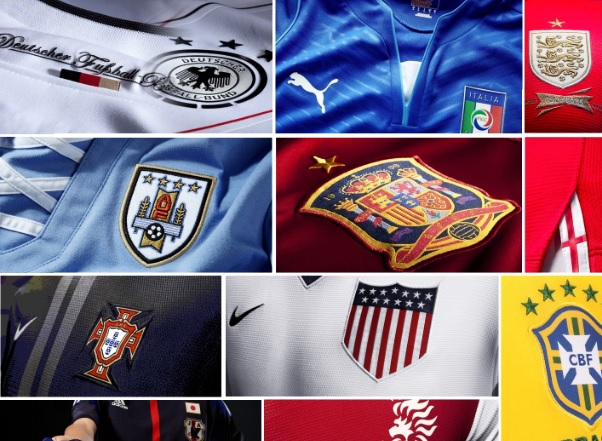 All FIFA World Cup 2014 Kits