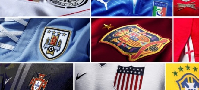 ALL KITS OF FIFA WORLD CUP 2014