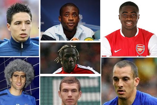 How many muslim player in EPL 2013