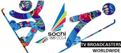 Winter Olympics 2014 TV Channels Broadcasters USA, UK Worldwide