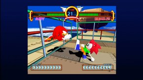 Sonic the Fighters: Knuckles vs. Amy