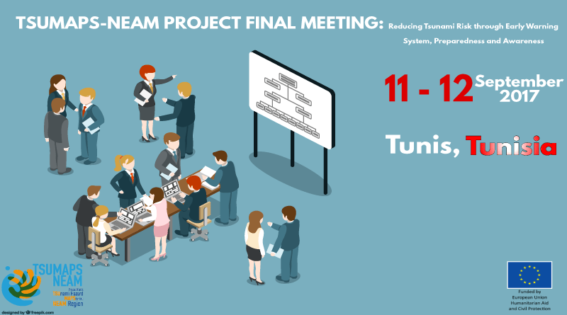 TSUMAPS-NEAM Project Final Meeting in Tunis, Tunisia