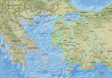 Turkey earthquake: Magnitude 6.3 seismic shock strikes western coast and large Greek island