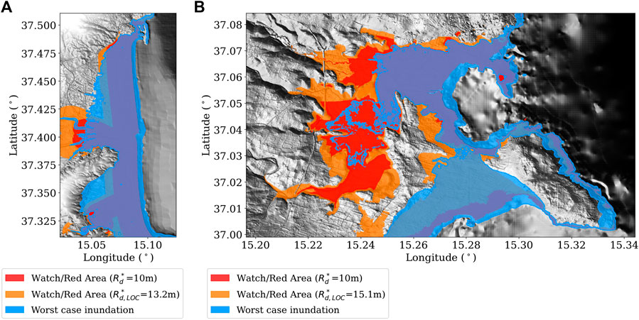 Testing Tsunami Inundation Maps for Evacuation Planning in Italy