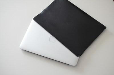 abicase cawa MacBook Air 11 inch用 本革ケース 試作品をいただいた!!