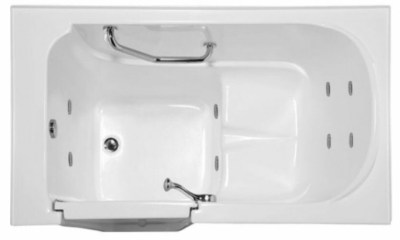Hydro Systems Life Style Walk In Tub | Soaking & Jetted Tub
