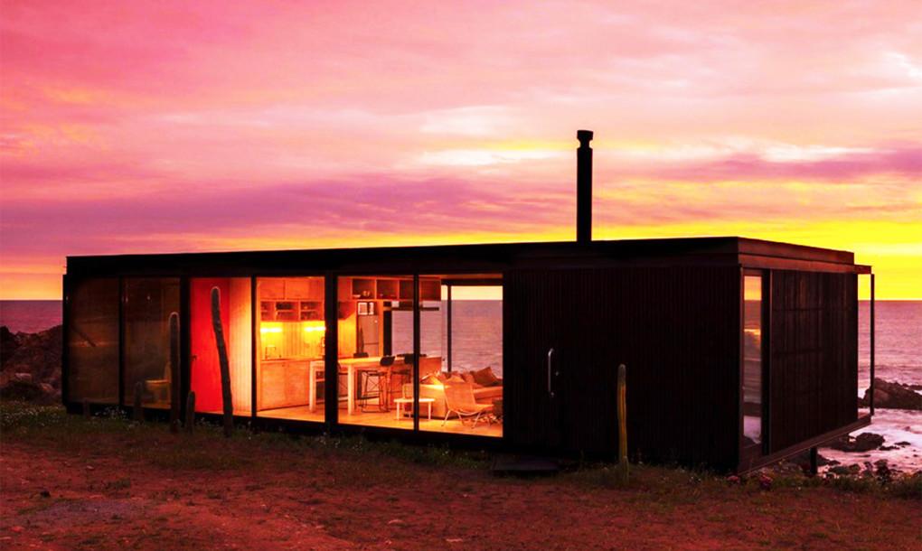 Casa Remota, un sueño prefabricado con vistas sensacionales