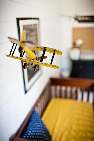 Nursery Plane Tucking In Superheroes