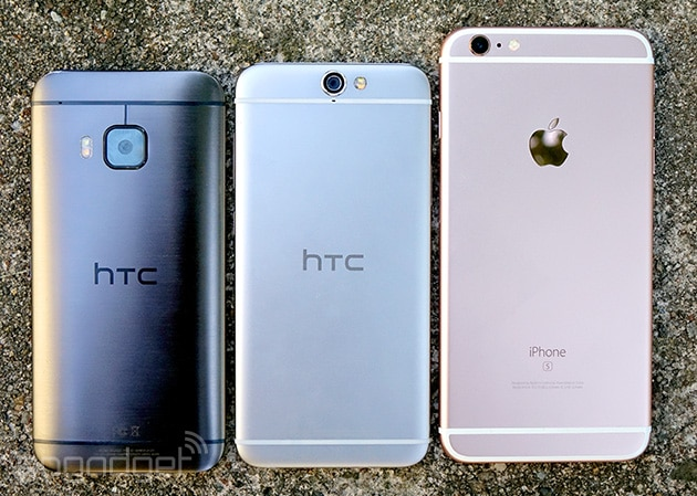 HTC One A9 vs Apple iPhone 6