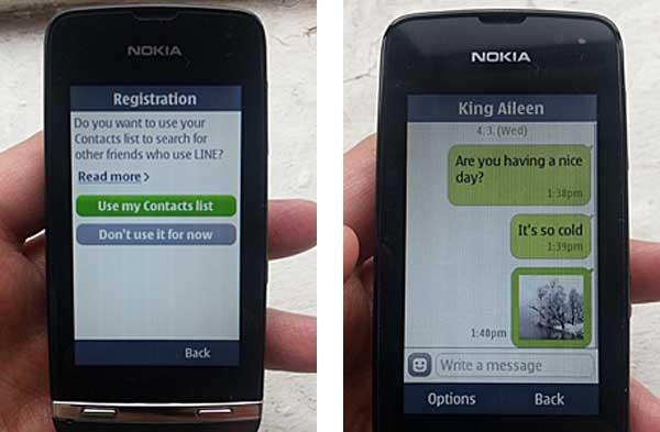 line Nokia® asha