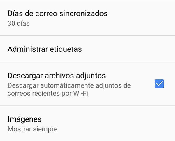 descargar archivos gmail
