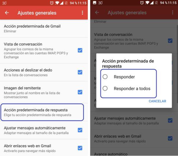 respuesta gmail